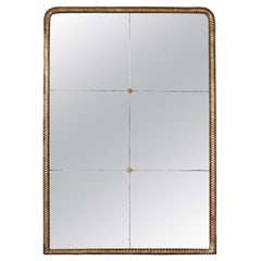19th Century Gold Rope Mirror