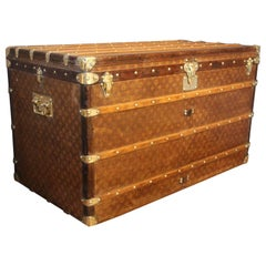 1900s Extra Large Louis Vuitton Trunk, Malle Vuitton Courrier