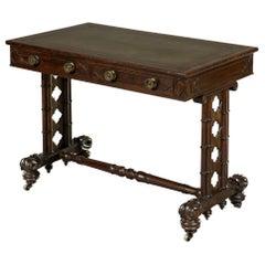 George IV Late Regency 19th Century Mahogany Metamorphic Writing Table