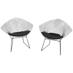 Bertoia Diamond Chair by Knoll International
