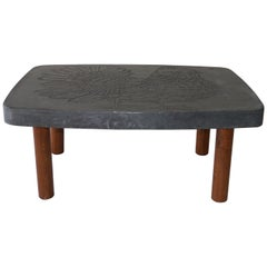 Roger Capron, Iconic Low Table, France, circa 1968