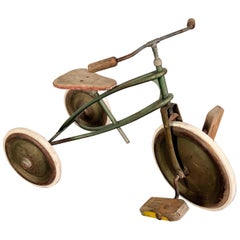 Rare German Vintage Toddler's, Children's or Kids Three Wheeled Bicycle