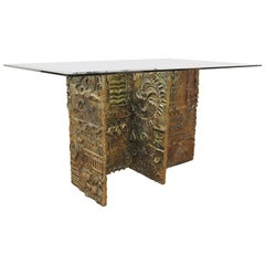 Paul Evans Studio Brutalist Sculpted Dining Table