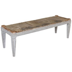 19th Century Swedish Gustavian Bench