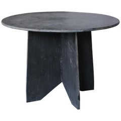 French Slate Table from Ardoise, France