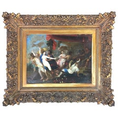 Original 17th Century Painting Attributed to the Circle of Peter Paul Rubens