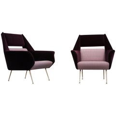 Gigi Radice, Chairs for Minotti, circa 1950-1959