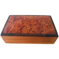 Moroccan Handcrafted Thuya Wood Box