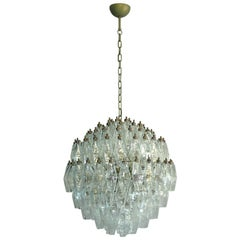Amazing Spherical Murano Poliedri Candelier, 140 Poliedri