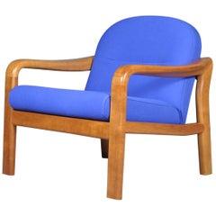Danish Solid Teak Armchair by Komfort, 1960s