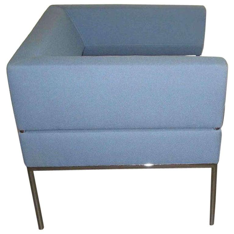 FM Lounge Blue Armchair