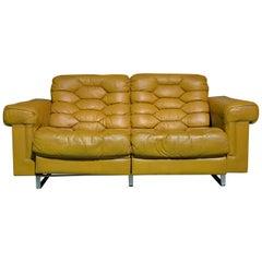 Vintage De Sede DS-P Reclining Sofa by Robert Haussmann, 1970s