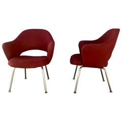 Pair of Eero Saarinen Executive Chairs by Knoll International, 1960