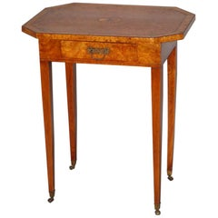 Amboyna Occasional Table