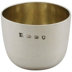 Georgian English Sterling Silver Tumbler Cup