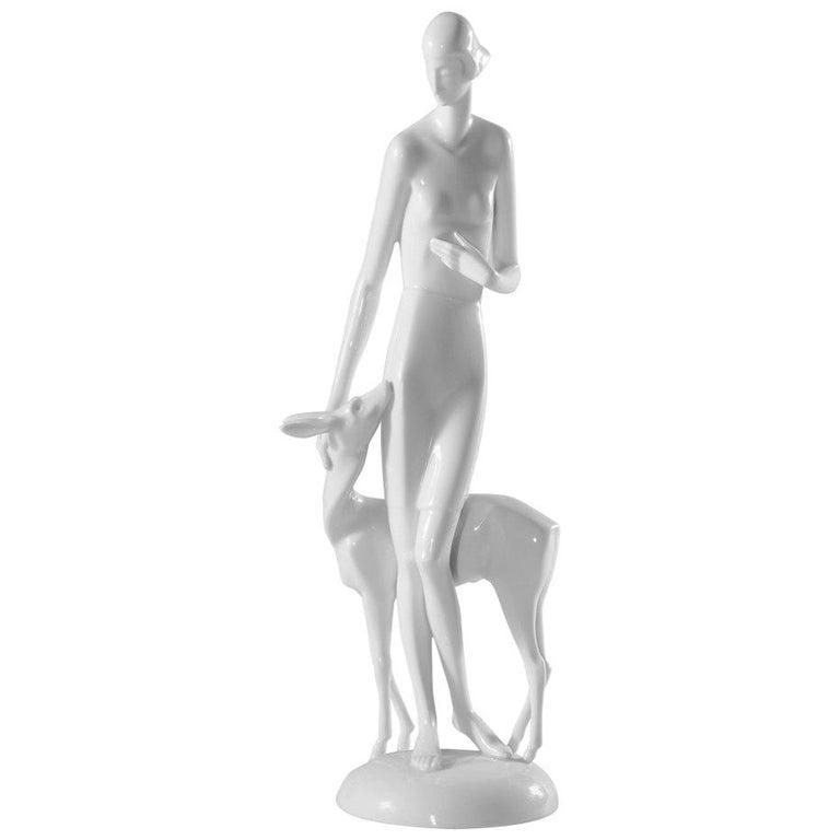 Art Deco Rosenthal Porcelain Figure Märchen 'Fairy Tale' For Sale