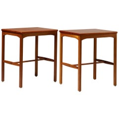 Pair of Side Tables Designed by Carl Malmsten for Carl Löfving & Söner, Sweden