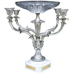 George IV Antique Silver Epergne Centerpiece