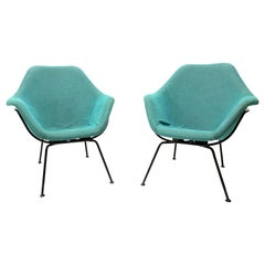 Vintage Lounge Chairs by Miroslav Navratil, Set of Two, 1950s