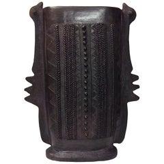 Contemporary Earthenware Vase by Jabu Nala, 2016