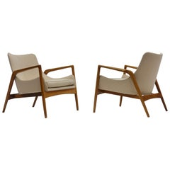 Pair of Lounge Chairs by Ib Kofod Larsen