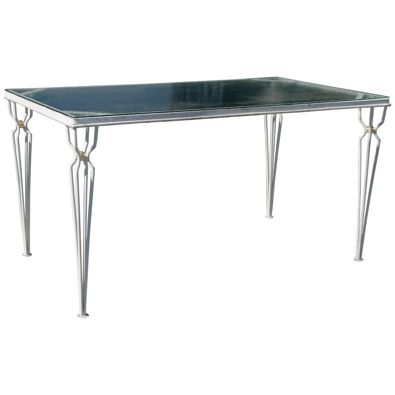Vintage Jean Royere Style Table, circa 1950 For Sale