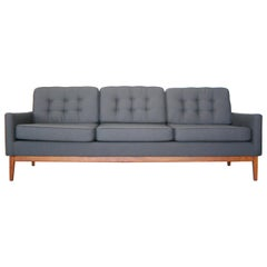 Recently Reupholstered Florence Knoll Sofa
