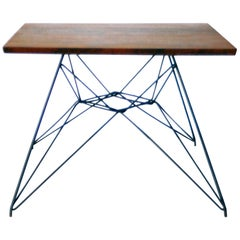 Early Eames Eiffel Base Prototype Table