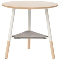 49N Coffee Table, Melton Wool and Eco-Friendly Powder Coated Steel Frame