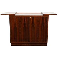Danish Modern Rosewood Dry Bar