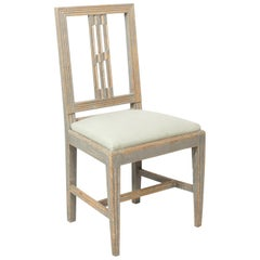 19th Century Gustavian Side Chair