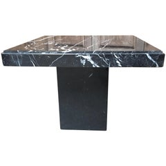 Modernist Marble End Table