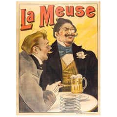 Original French Belle Époque Beer Poster by Marold