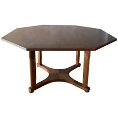 Edward Wormley Janus Game Table with Leaves