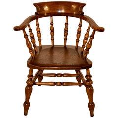 19th Century English Captain's Chair