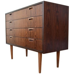 Danish Midcentury Rosewood Chest of Drawers, 1960s