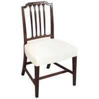 Set of Six Fine George III Period Mahogany Dining-Chairs