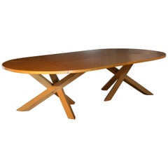 Martin Visser Oval Oak Conference Table