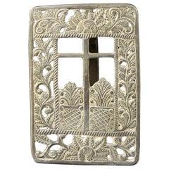 Silver Pax Board, 17th Century
