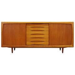 H.P. Hansen Sideboard Teak Danish Design Vintage Classic