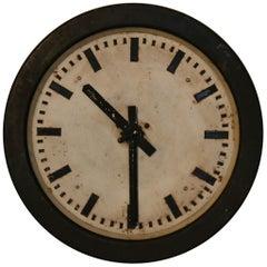 1950s Polish Electric Factory Clock