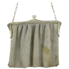 Silver Mesh Bag, 19th Century