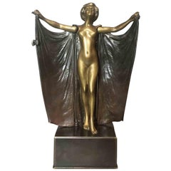 'Open Sesame' a Bronze Concealed Erotic Figure by Carl Kauba, circa 1900