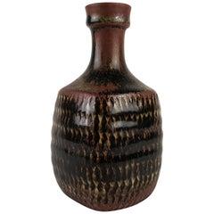 Einzigartige Stig Lindberg, Gustavberg Studio Keramik Vase