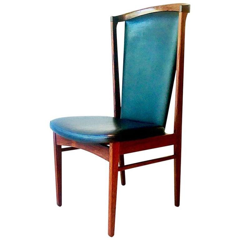 Substantial Danish Eric Buck Designed Desk Chair, 1960s For Sale