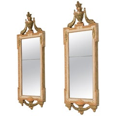 Matched Pair of Swedish Gustavian Mirrors, circa 1780