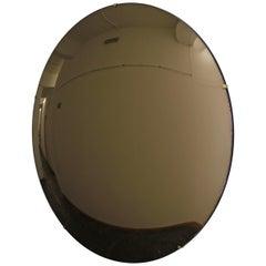 Crafted Frameless Orbis Bronze Convex Mirror 80cm/31.4in