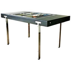 Italian Inspired Fliptop Backgammon Table Created by Talisman