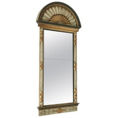 Tall Swedish Empire Pier Mirror Dated circa 1820