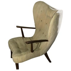 Pragh Chair by Ib Madsen & Acton Schubel, Danish Midcentury, 1950s